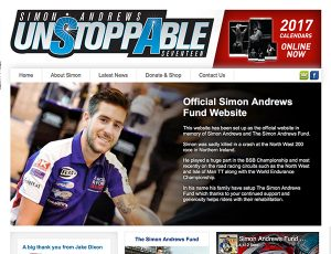 Simon Andrews website design